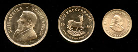South Africa Gold Coins