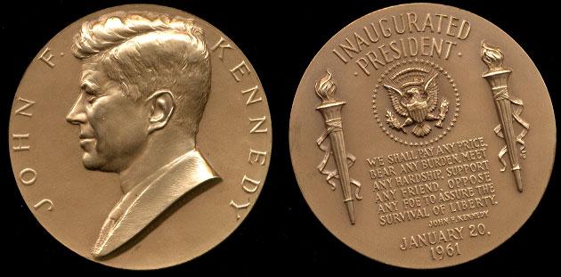 "1960 John F. Kennedy 3"" Medal"