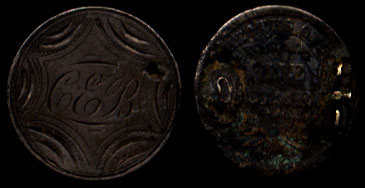 &CEB Seated Dime Love Token