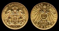 German Gold Coins