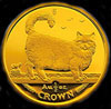 Isle of Man Cat Gold Coin