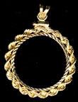 Gold Rope Bezel