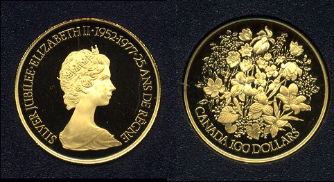Gold Coins Of Canada