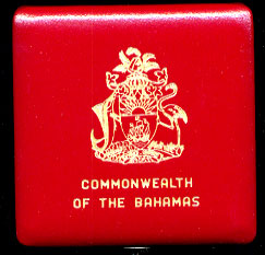 Bahamas 1975 Proof $50 Gold Coin