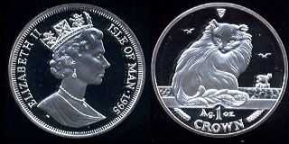 1995 Turkish Cat  3-Coin Proof Set