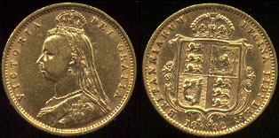 Gold Coins Of England
