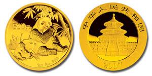 2007 China Gold Panda Coin
