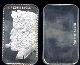 BM-10V3 The Pipedreamer Silver Artbar