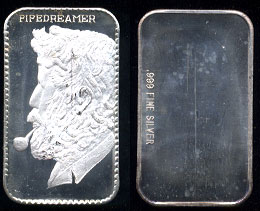 BM-10V4  The Pipedreamer Silver Artbar