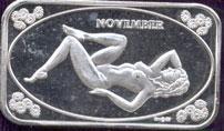 CCM-32 November Silver Artbar