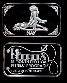 Dr. Peeper's May Silver Artbar