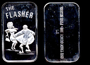 TM-58V The Flasher Silver Artbar