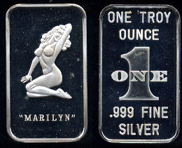 WEST-10 (1990) Marilyn (Remake) Silver Artbar
