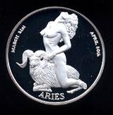 Connoiseurs' Club Zodiac Aries Round