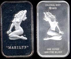 COL-4 Marilyn Silver Artbar