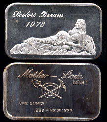 MLM-23 Sailor's Dream Silver Bar