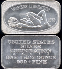 USSC-149 Womens Liberation Silver Bar