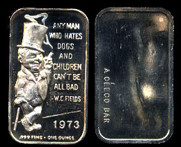 "CEM-48 W. C. Fields ""---Dogs and Children---"""