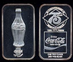 Coke-2 Terre Haute, In.Coke Silver Artbar