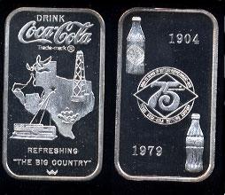 WWM-100 Abilene, Tx. Coke Silver Artbar