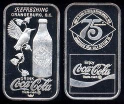 WWM-101 Orangeburg, SC Coke Silver Artbar