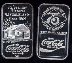 WWM-103 Petersburg, Il. Coke Silver Artbar