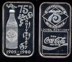 WWM-106 Louisa, Ky. Coke Silver Artbar