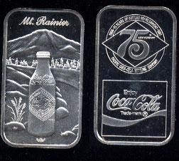 WWM-107 Mt. Rainier Coke Silver Artbar