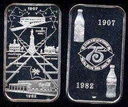 WWM-119 Corinth, Ms. Coke Silver Artbar