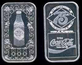 WWM-72A Mobile, Al. #2 Coke Silver Artbar