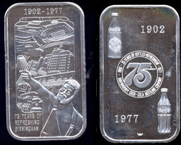 WWM-74 Birminhgam, Al. Coke Silver Artbar