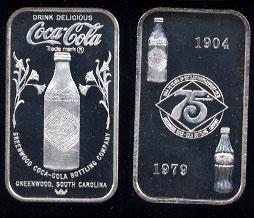 WWM-99 Greenwood, Ms. Coke Silver Artbar