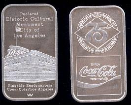 WWM-87 Los Angeles, Ca. Coke Silver Artbar