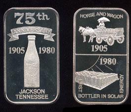 WWM-116 Jackson, Tn. Coke Silver Artbar
