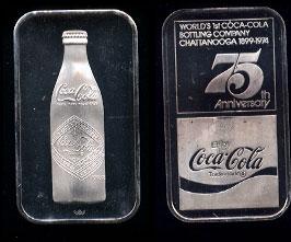 WWM-56 Chattanooga, Tn Coke Silver Artbar