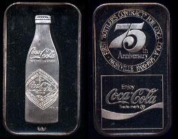 WWM-57 Nashville, Tn. Coke Silver Artbar