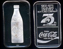 WWM-58 Atlanta, Ga. Coke Silver Artbar