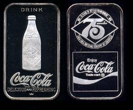 WWM-59 Louisville, Ky. Coke Silver Artbar