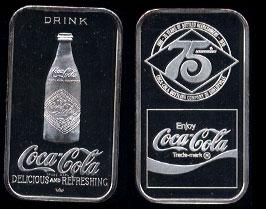 WWM-60 Shelbyville, Ky.Coke Silver Artbar
