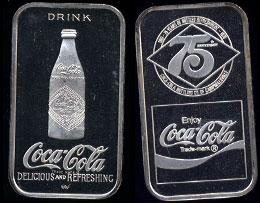 WWM-61 Campbellsville, Ky. Coke Silver Artbar