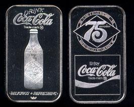 WWM-64 Norfolk, Va. Coke Silver Artbar