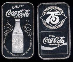 WWM-65 Cincinatti, Oh. Coke Silver Artbar
