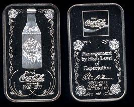 WWM-67 Huntsville, Al.Coke Silver Artbar