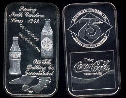 WWM-75 Charlotte, NC.Coke Silver Artbar