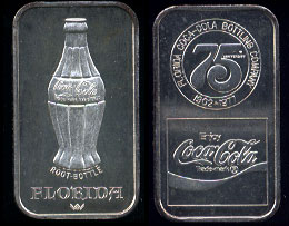 WWM-77 Florida Coke Silver Artbar