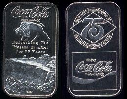 WWM-78 Buffalo, NY Coke Silver Artbar