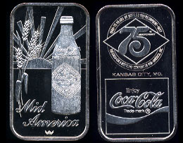 WWM-79 Kansas City, Mo. Coke Silver Artbar
