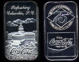 WWM-81 Columbia, SC Coke Silver Artbar