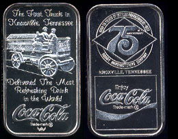 WWM-85 Knoxville, Tn.Coke Silver Artbar
