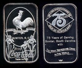 WWM-88 Sumter, SC Coke Silver Artbar
